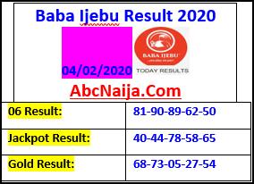 Baba Ijebu Result 2020