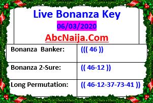 Live bonanza key