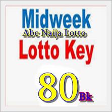 Midweek lotto key live plan