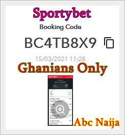 Bet9ja sure booking code