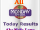 Monday Special Results