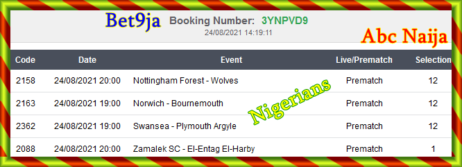 Recovery bet ticket